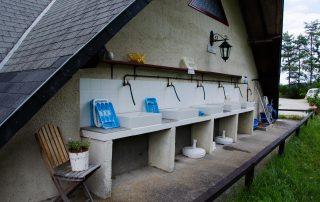De afwasplaats