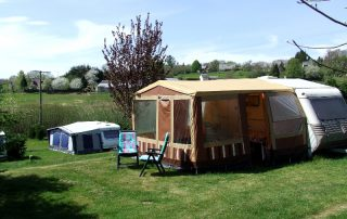 Caravan camping Le Soustran