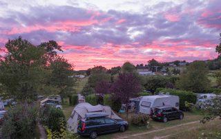 Camping Le Soustran avondschemering